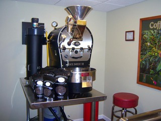Retail roaster for 3 wave roasters